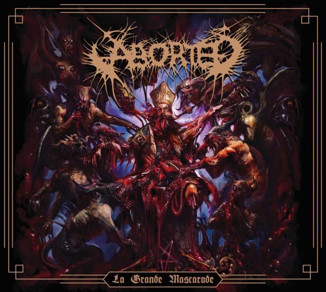 Aborted presenta su nuevo EP «La Grande Mascarade»