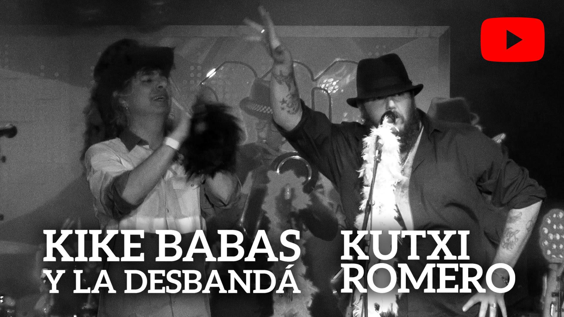 Kike Babas y Kutxi Romero presentan el tema «Virgen de la caradura»