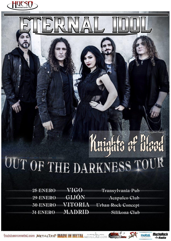 Knights of Blood invitados para la gira de Eternal Idol con Fabio Lione