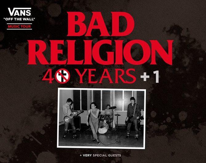 Bad Religion: Nuevas fechas de su gira por España