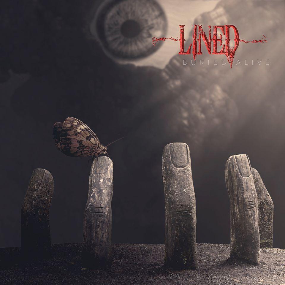 Lined: Nuevo lyric  vídeo «Buried Alive»