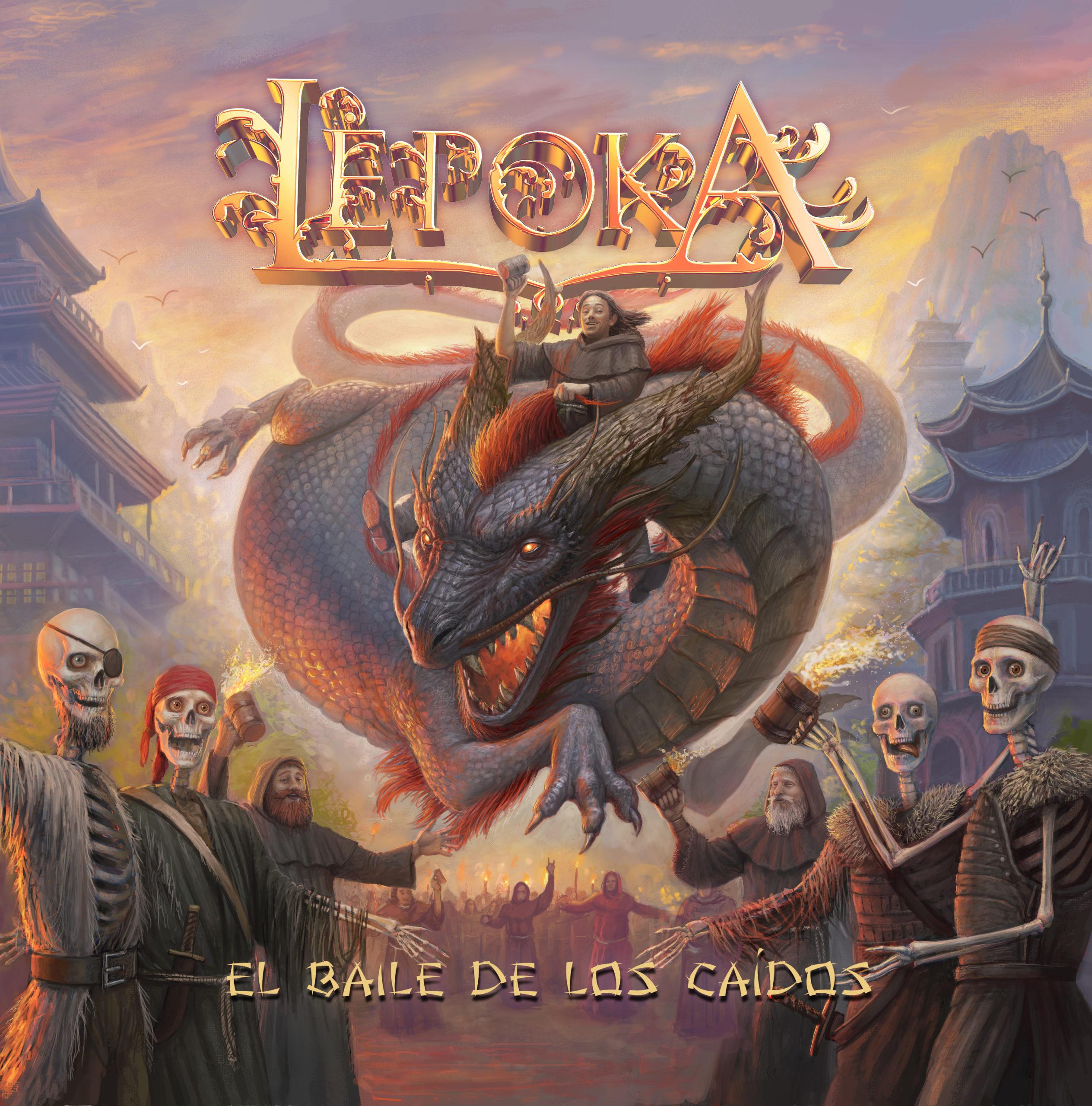 Lépoka presenta su nuevo disco «El Baile De Los Caídos»