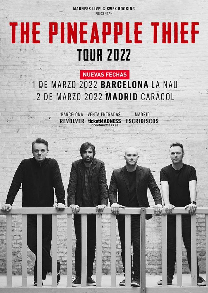 The Pineapple Thief posponen sus conciertos en España a 2022