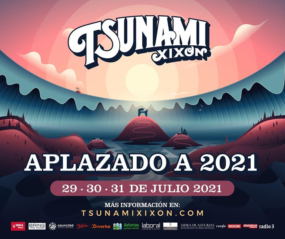 El festival Txunami Xixón confirma su aplazamiento a 2021