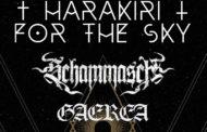 Harakiri for the Sky + Schammasch + Gaerea – Barcelona en febrero 2021