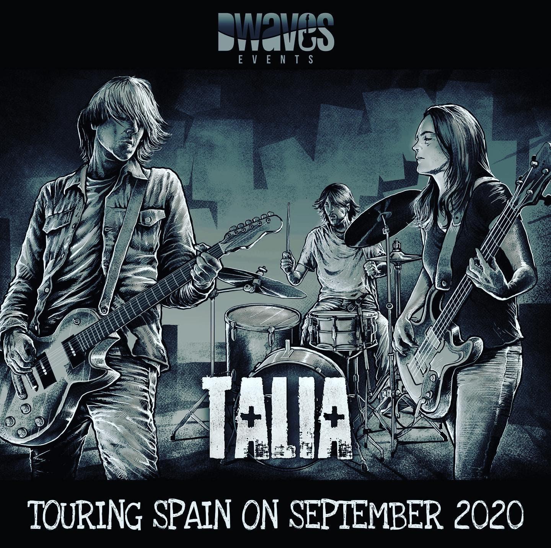 Talia: Gira por España en septiembre