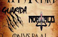 Histeria, Norwald, Guarida y Onus Baal actuarán juntos en Sevilla en octubre