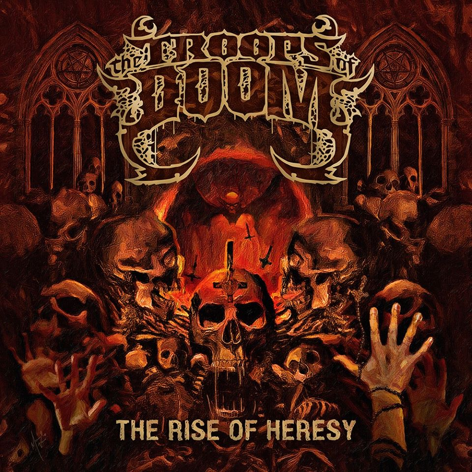 The Troops Of Doom  estrenan nuevo single «Between the Devil and the Deep Blue Sea»