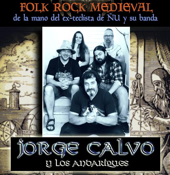 Jorge Calvo y los Andariques (EX-ÑU) – Nueva formación y conciertos
