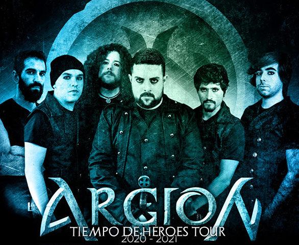 ARGION: Anuncia las fechas de su nueva gira 'Tiempo de Héroes Tour'