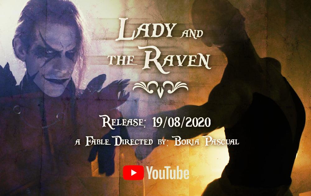 Raven's Gate estrena el videoclip de Lady and the Raven