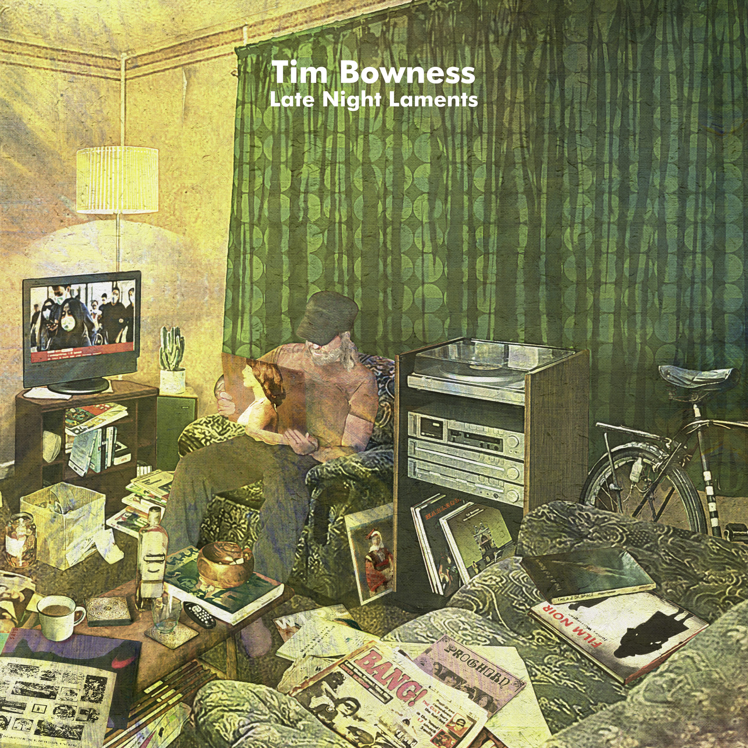 [Entrevista] Tim Bowness – Nuevo disco «Late Night Laments»