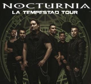 """Nocturnia vuelve a los escenarios para continuar con la gira """"La Tempestad Tour"""""""