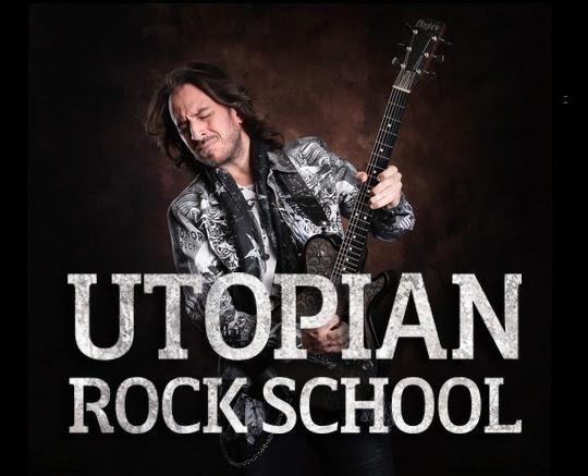 UTOPIAN ROCK SCHOOL: La nueva escuela musical online