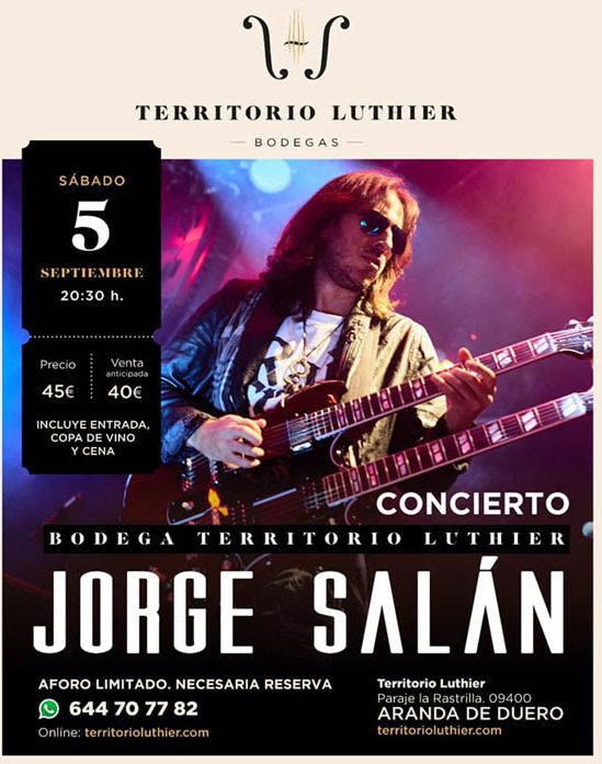 JORGE SALAN: Cena y concierto de blues en Aranda de Duero (León)