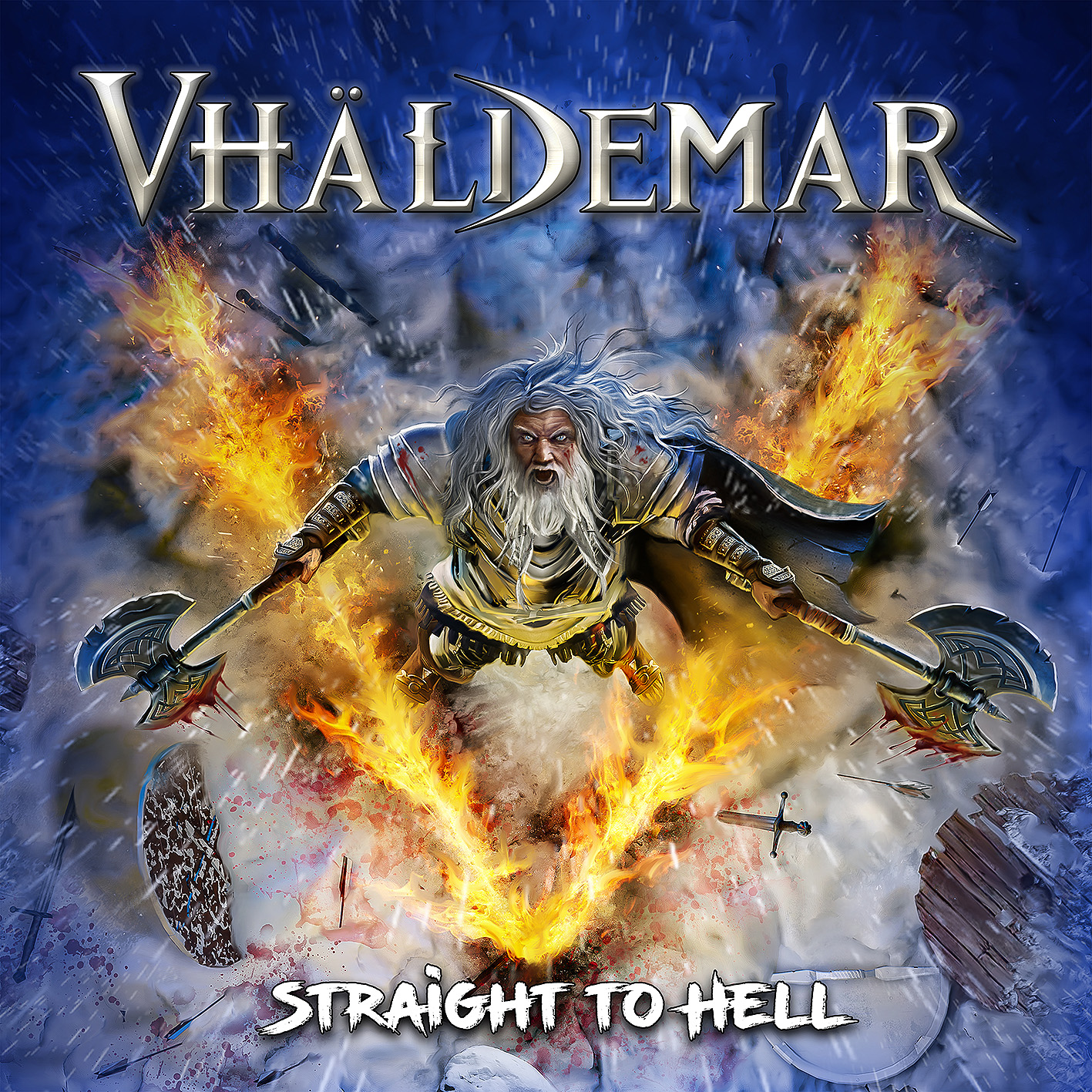 Reseña  Väldhemar – «Straight To Hell»