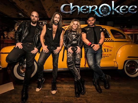 Cherokee anuncia concierto en Madrid