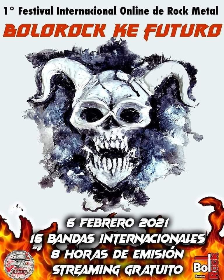 1º FESTIVAL INTERNACIONAL ONLINE DE ROCK METAL BOLOROCK KE FUTURO