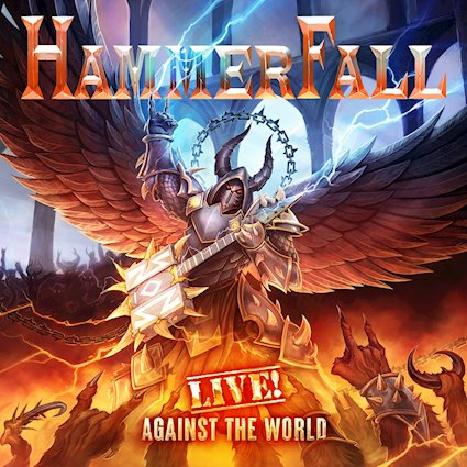 """Reseña – Review: Hammerfall """"Live! Against the world"""""""