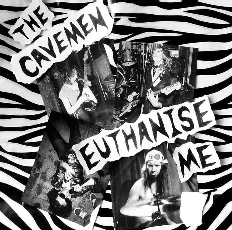 The Cavemen: Nuevo EP «Euthanise Me»