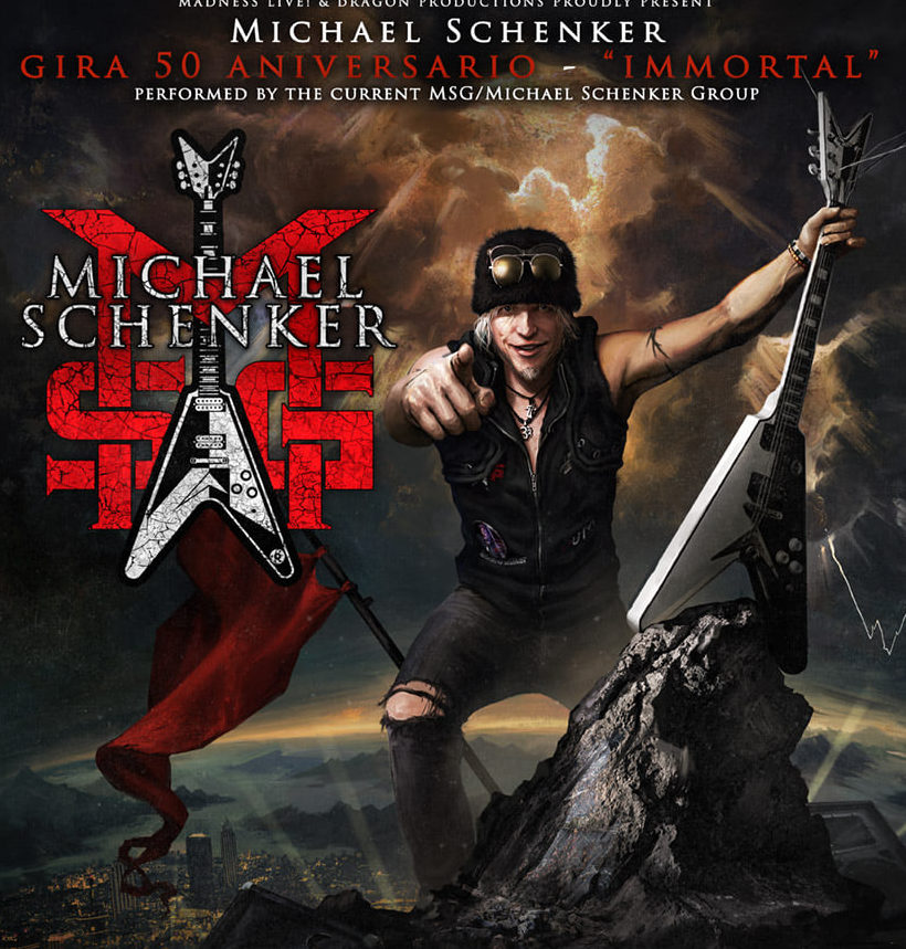 Michael Schenker: Cambio de fechas la gira española