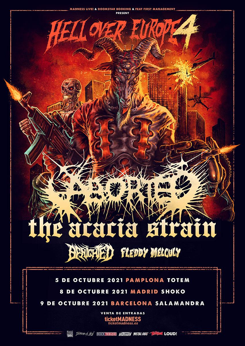 Hell Over Europe 4, fechas en España