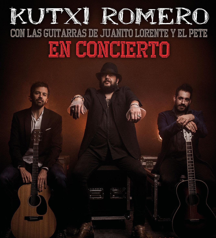 Kutxi Romero ofrecerá un concierto el 21 de diciembre, en Baluarte