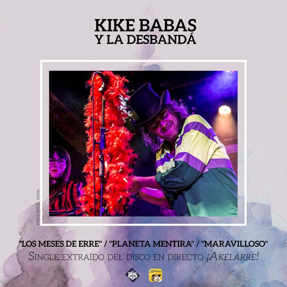 Kike Babas: nuevo vídeo y rueda de prensa con Kutxi Romero