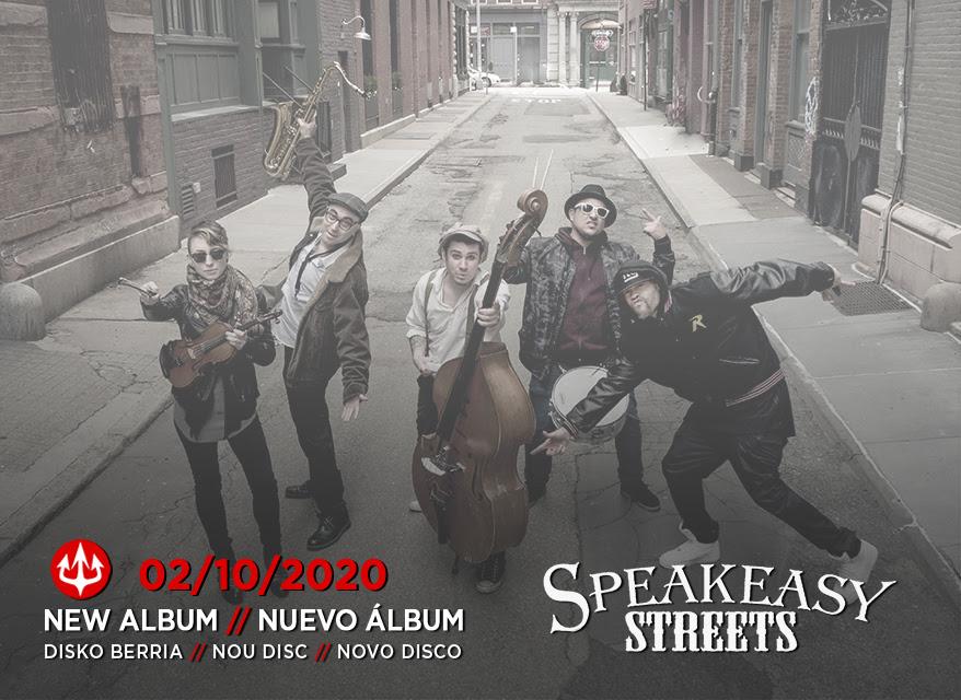 SPEAKEASY STREETS: Los neoyorquinos publican el vídeo-lyric de su tercer adelanto, 'Sweet Deceit'