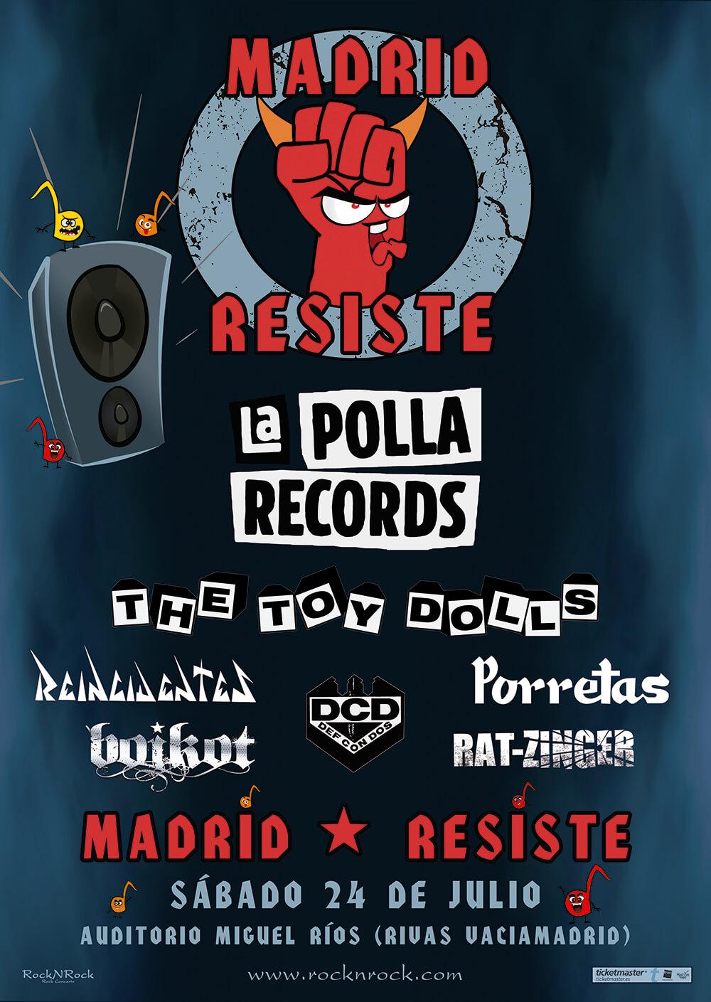 FESTIVAL MADRID RESISTE – 24 DE JULIO