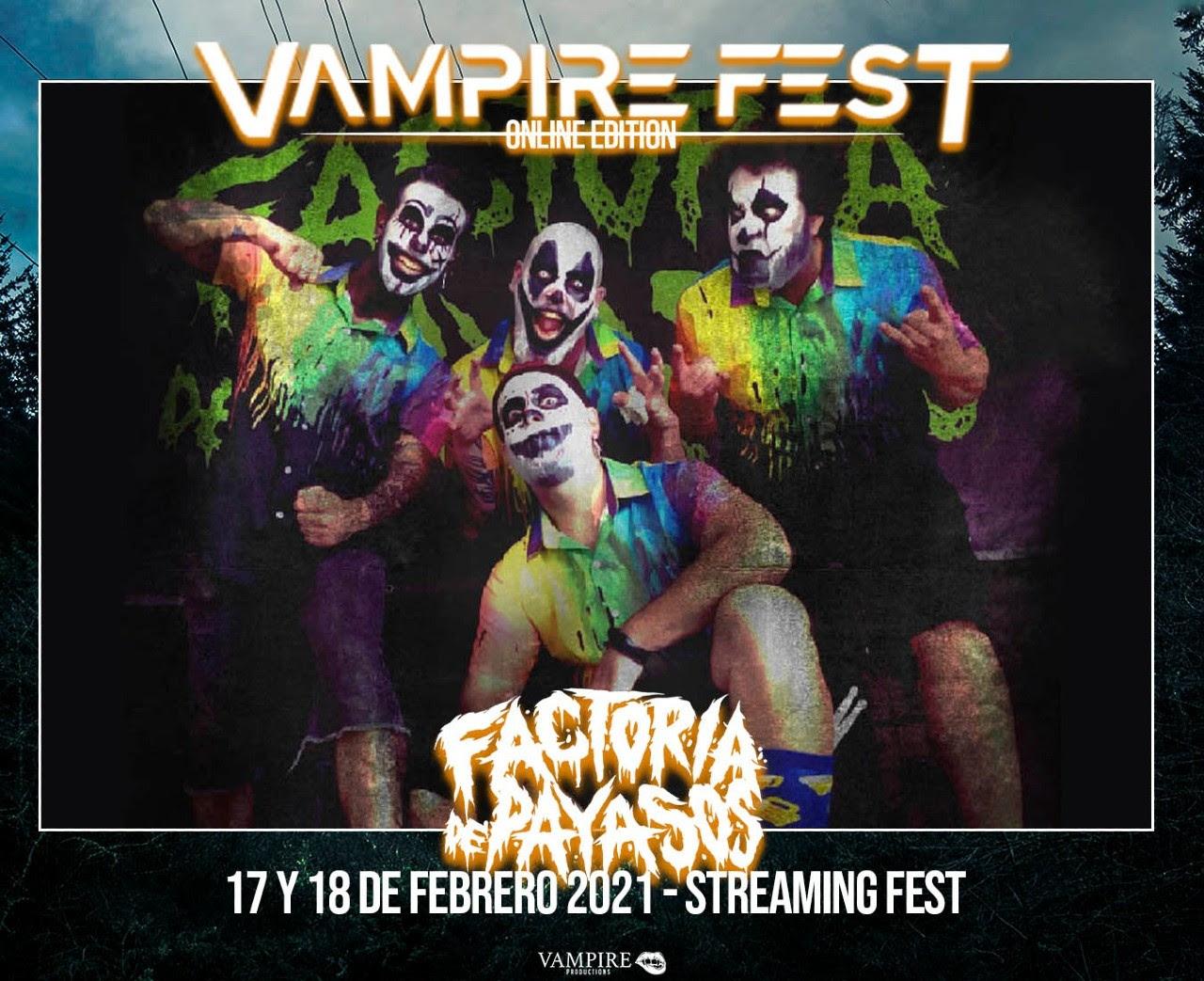 Vampire Fest Online Edition presenta 4 nuevas bandas