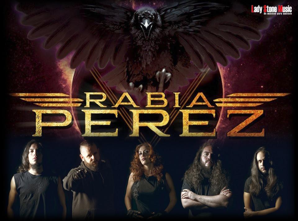 RABIA PEREZ firma con Lady Stone Music: nueva formación y regrabación EP