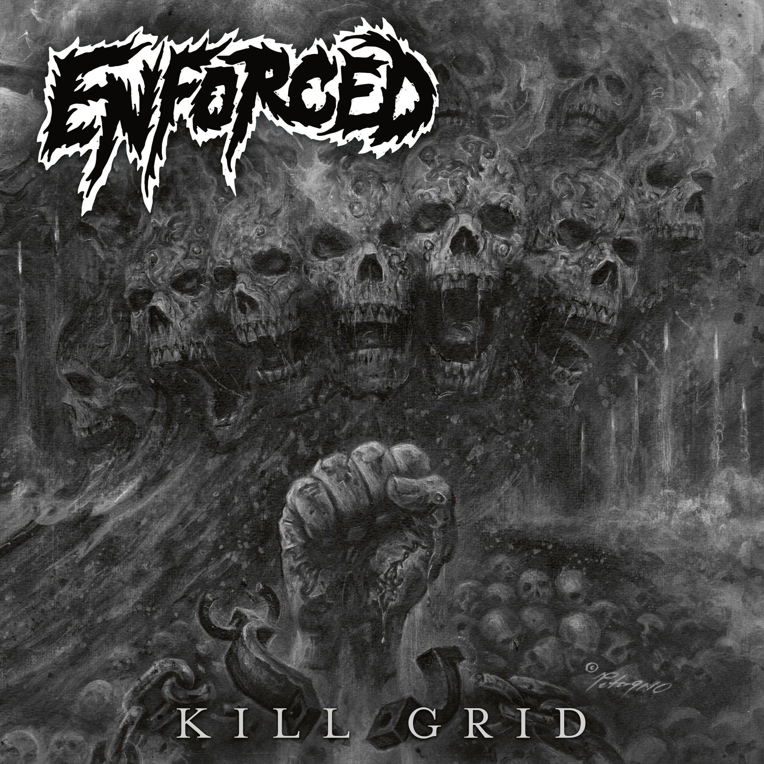 "ENFORCED – Estrena el vídeo visual, ""Curtain Fire"", sacado del nuevo álbum «Kill Grid»"