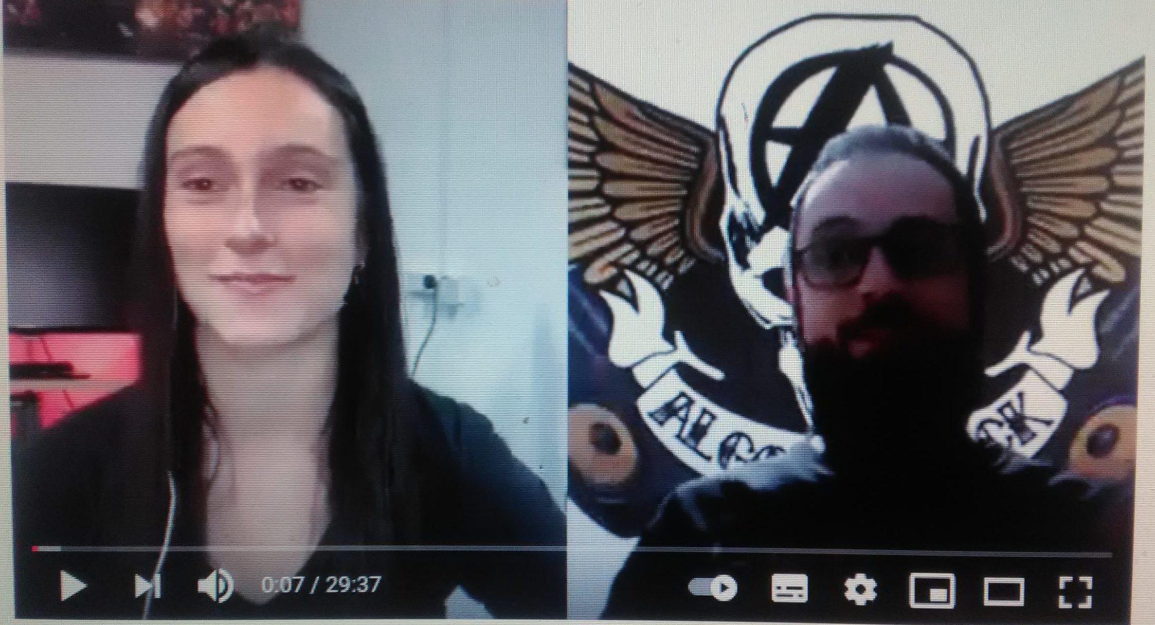 Vídeo-Entrevista- Diva Satánica (Nervosa y Bloodhunter))