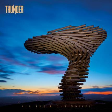 "Reseña – review: Thunder ""All the Right Noises"""
