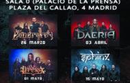 EL METAL ES SEGURO: Un ciclo de conciertos de Metal en MADRID por ON FIRE