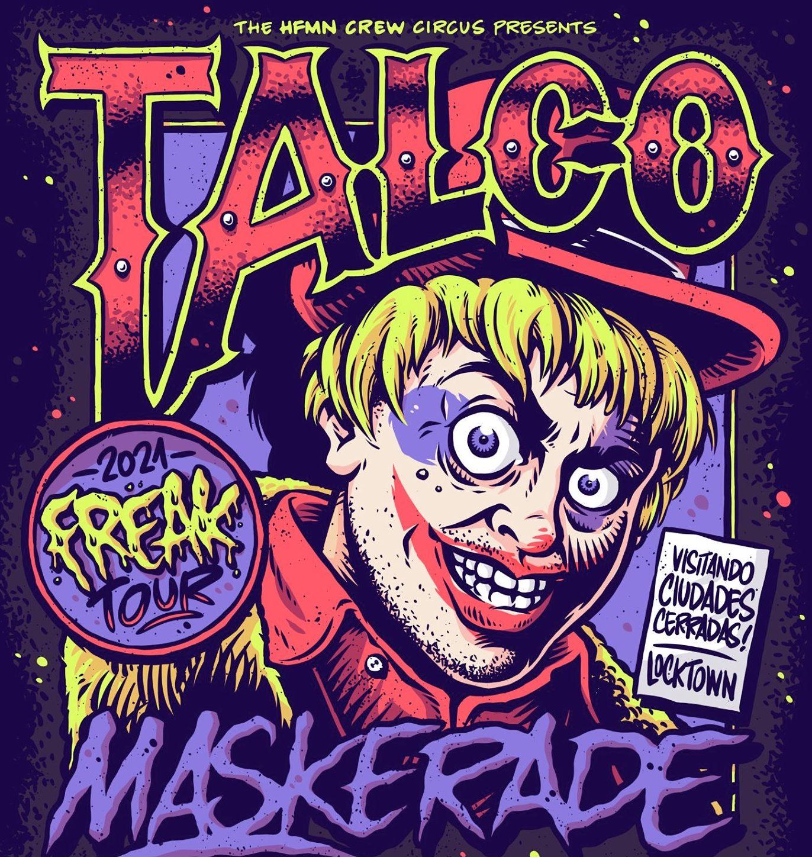 Talco Maskerade anuncia gira por España en Mayo de 2021