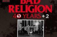 Bad Religion vuelven a España en 2022 con su gira «40 Years + 2»