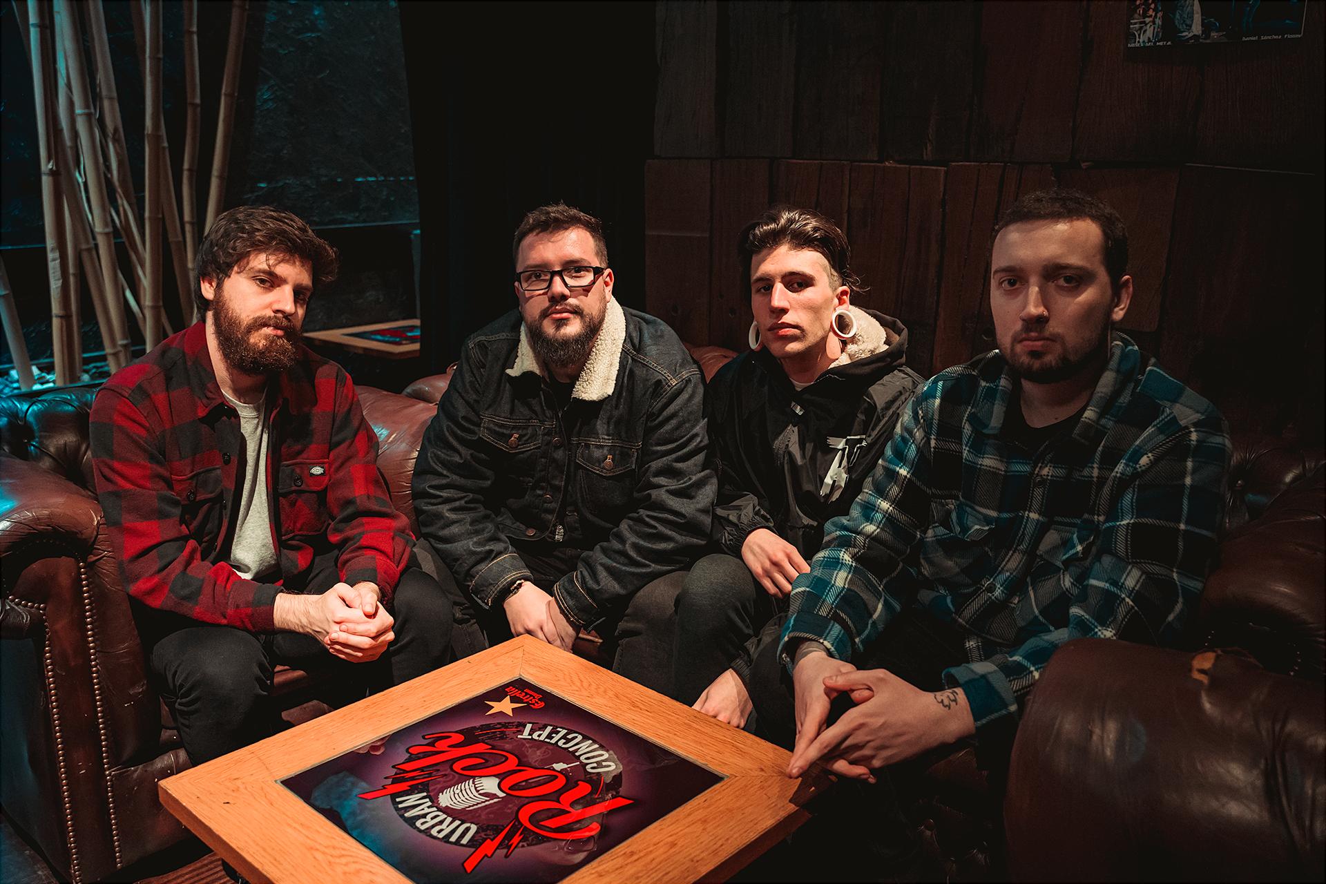 Threats: La banda madrileña estrena el single «Crash And Burn»