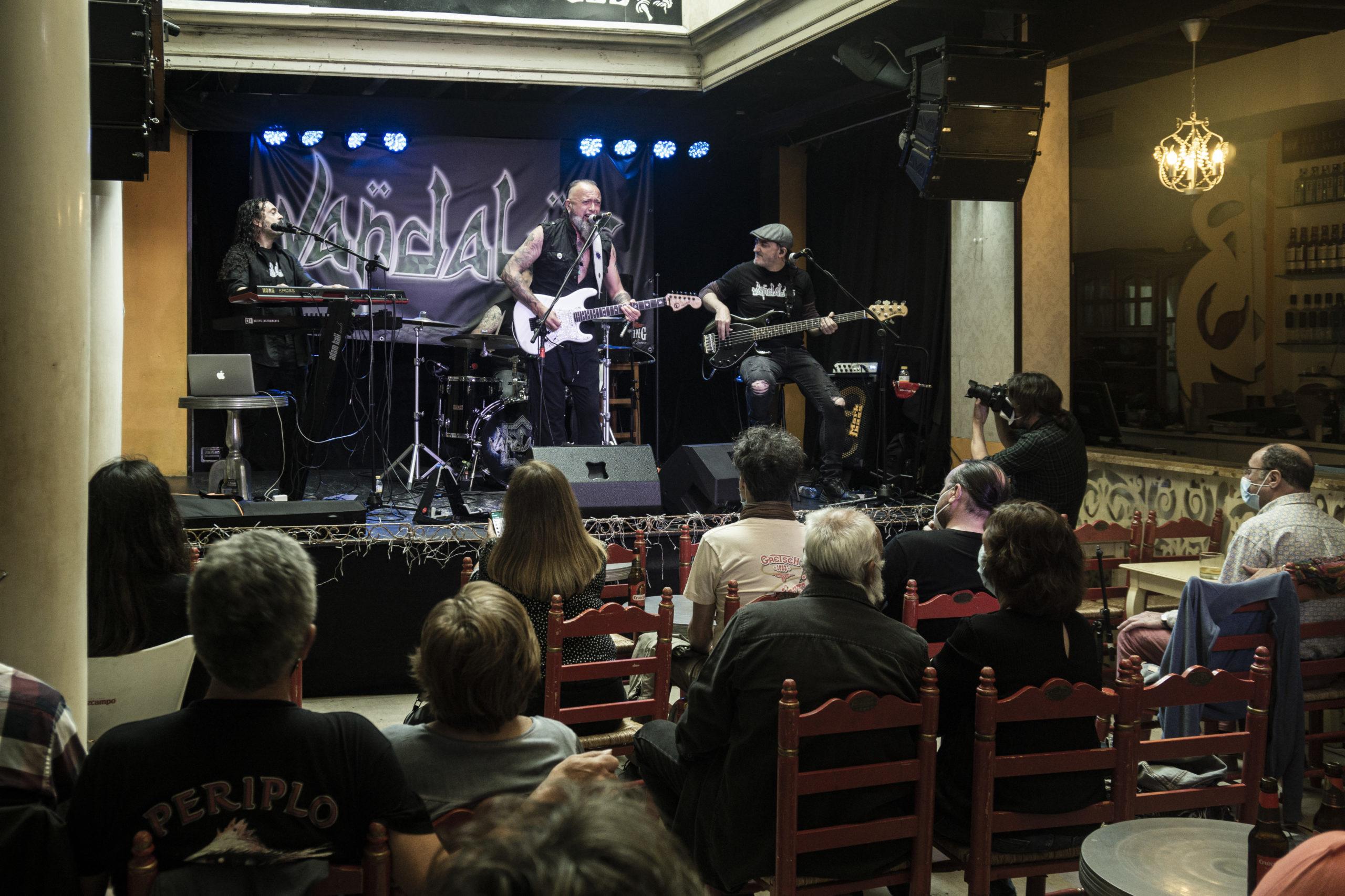 Crónica del concierto de Vandalus en la sala La Guarida del Ángel