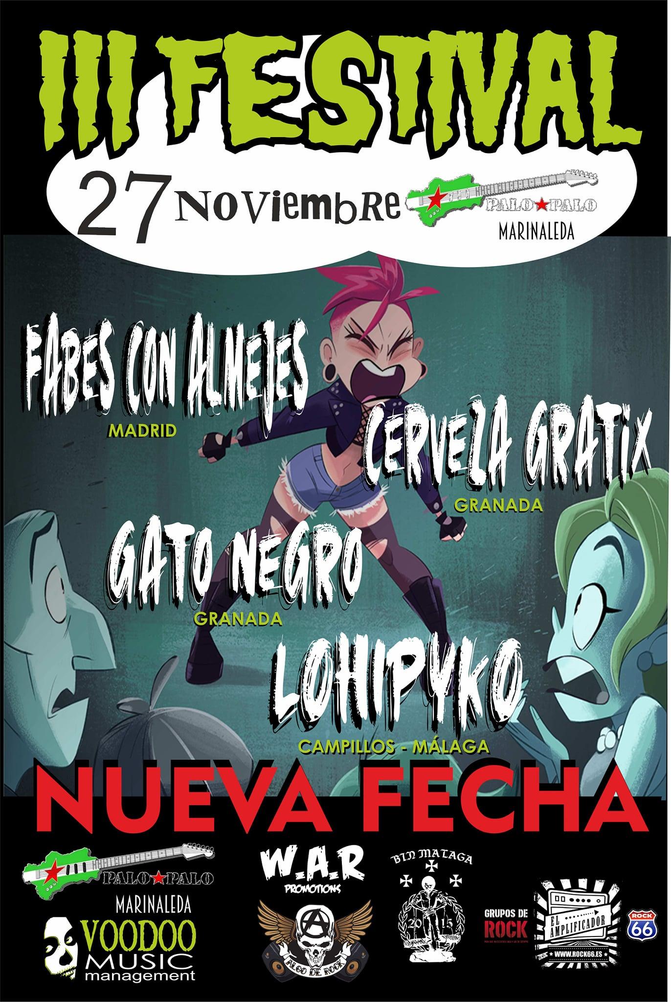 III Festival Voodoo Music – 27 de noviembre en Marinaleda