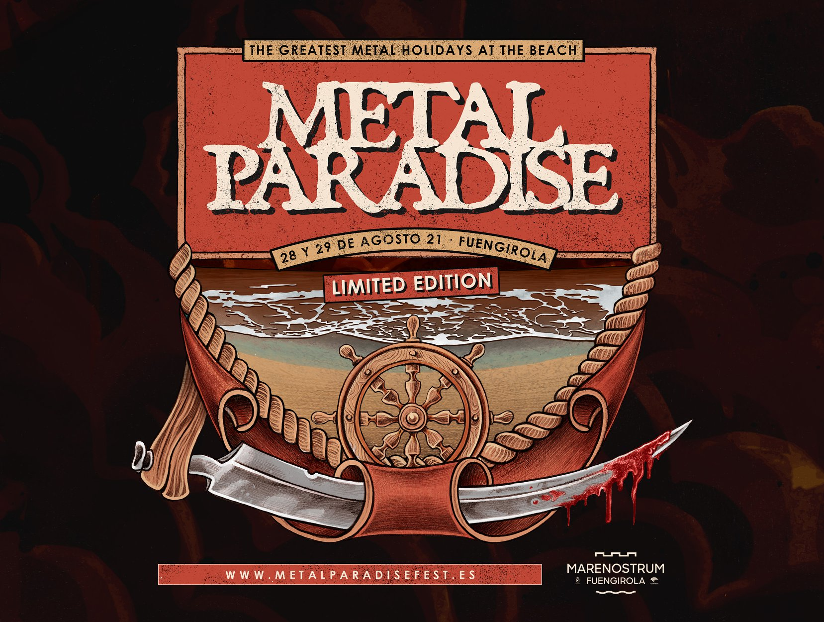 METAL PARADISE LIMITED EDITION – 28 Y 29 DE AGOSTO