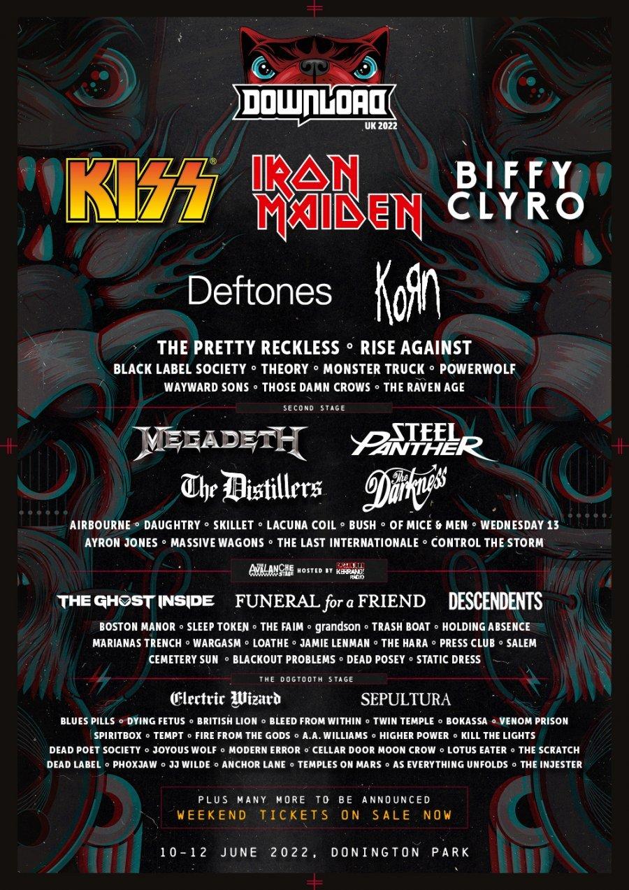 Download Festival 2022 – 10/12 de junio