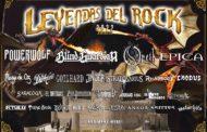 Festival Leyendas Del Rock: Avance del cartel y venta de entradas