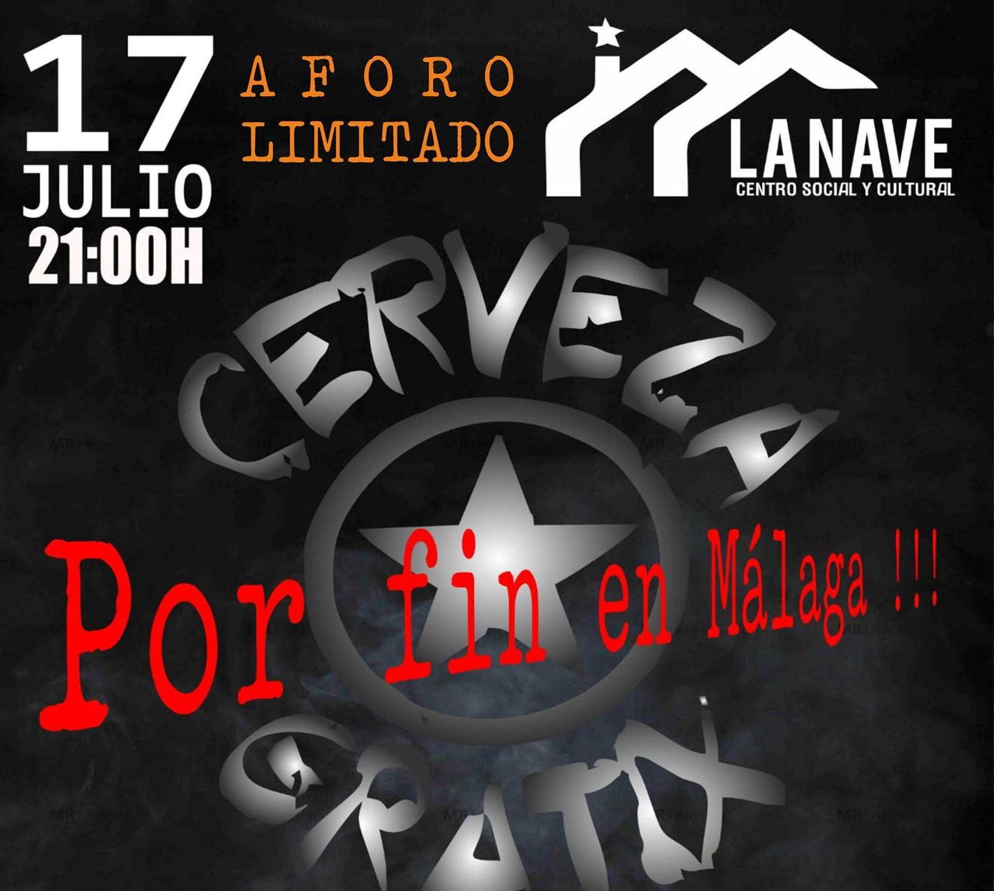 Cerveza Gratix: El 17 de julio en Málaga