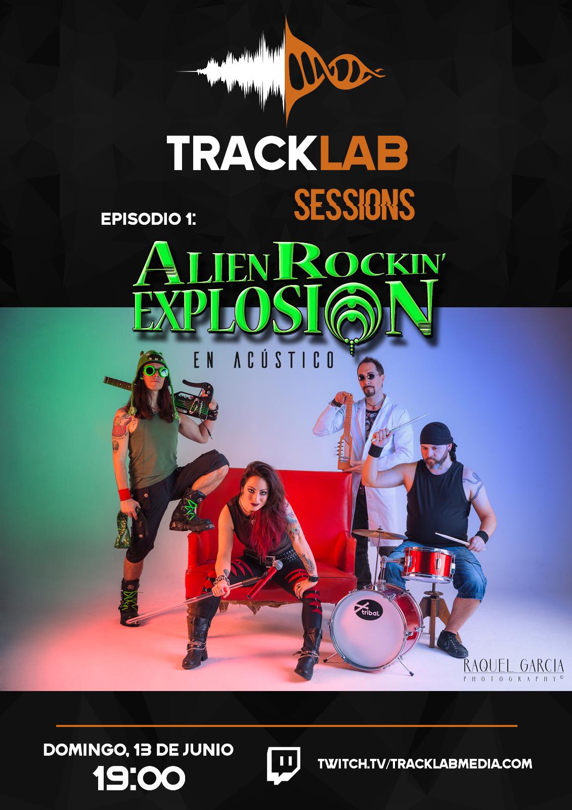 Alien Rockin' Explosion estarán en directo y lanzan nuevo videoclip
