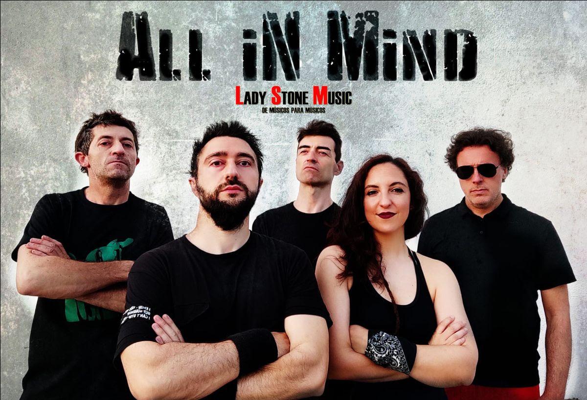 Los granadinos All In Mind fichan con Lady Stone Music