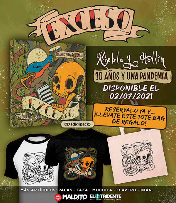 EXCESO: Publicará una nueva versión, en acústico, de su primer álbum 'Niebla y Hollín'