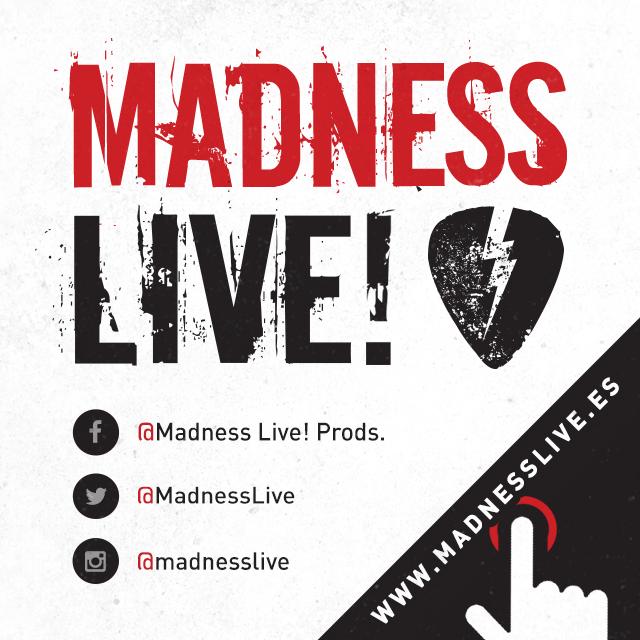 Madness Live! – Todas sus giras