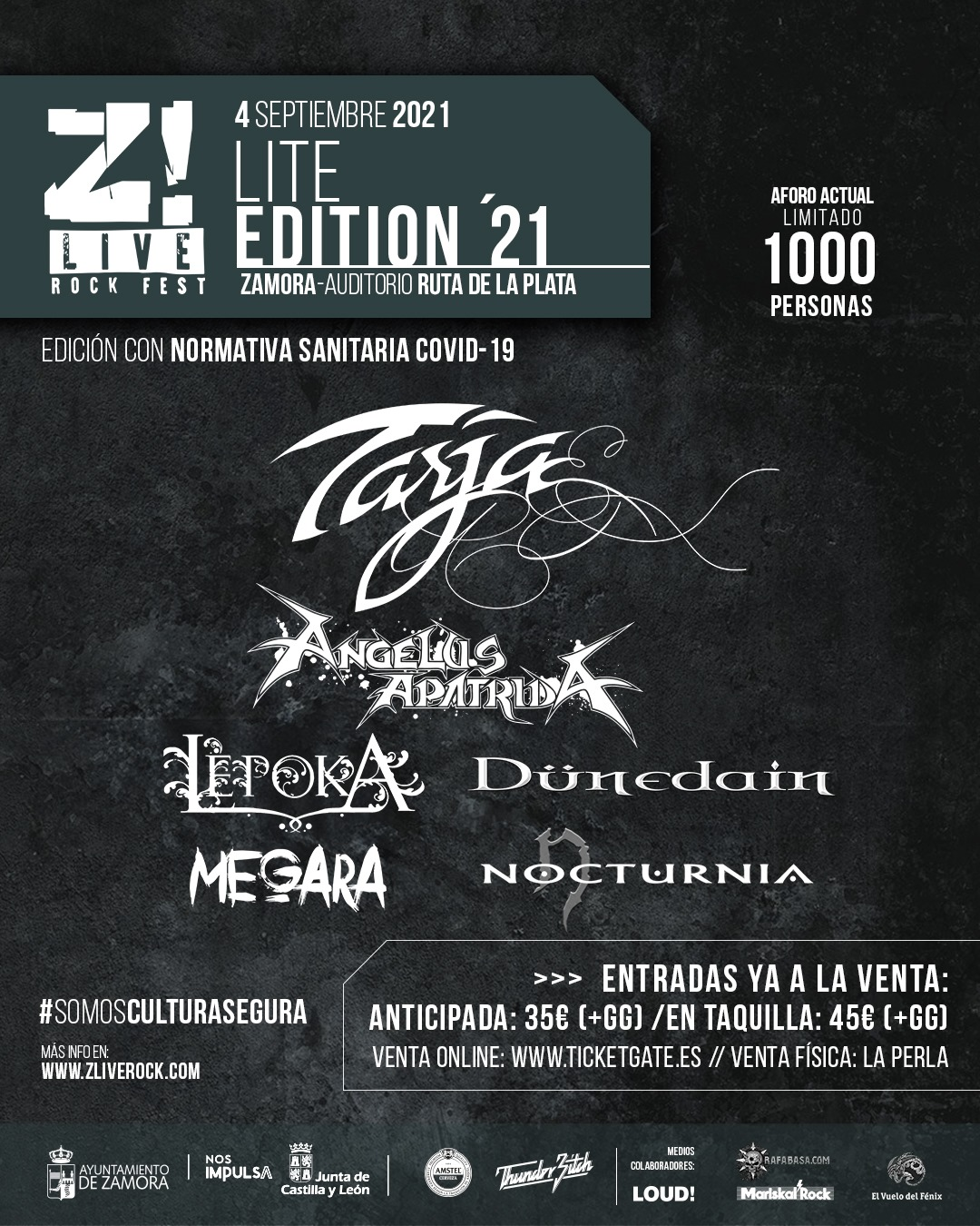 Z! Live Lite Edition – 4 de septiembre